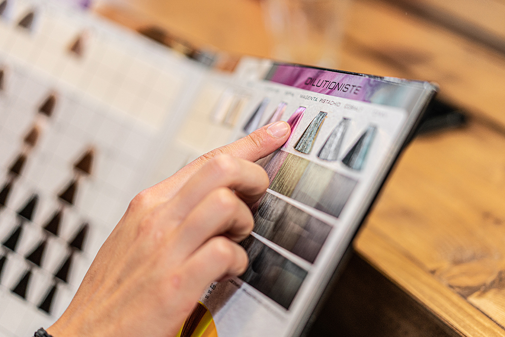 Kleurenkaart sfeer
